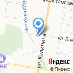 Средняя общеобразовательная школа №27 с дошкольным отделением на карте Благовещенска