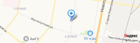 МТС Банк на карте Благовещенска