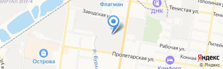 Компания Персона Грата на карте Благовещенска