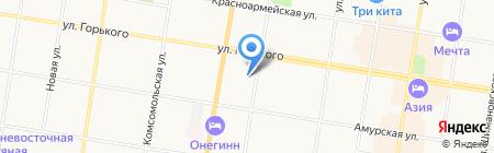 АрсДвк на карте Благовещенска