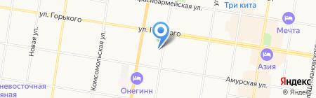 НИИ охраны труда в городе Иваново на карте Благовещенска