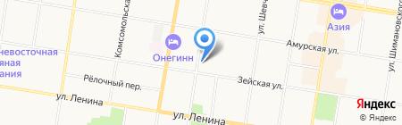 Агропром-МДТ на карте Благовещенска