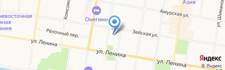 FORTUNA на карте Благовещенска