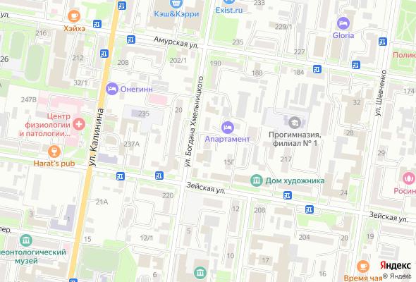 купить квартиру в ЖК Богдана Хмельницкого, 13