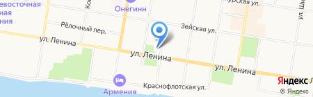 Управление ЗАГС Амурской области на карте Благовещенска