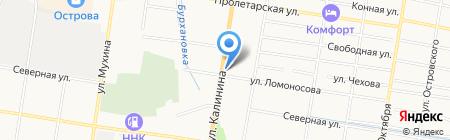 Витадент на карте Благовещенска