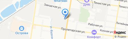 Фауст на карте Благовещенска