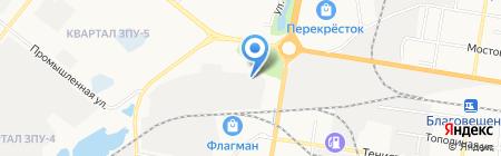 Импульс на карте Благовещенска