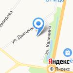 Центр развития ребенка-детский сад №68 г. Благовещенска на карте Благовещенска
