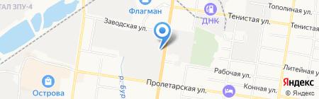 Pro100 на карте Благовещенска