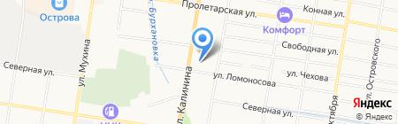 Технополис на карте Благовещенска