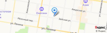 Бизнес IT Решения на карте Благовещенска