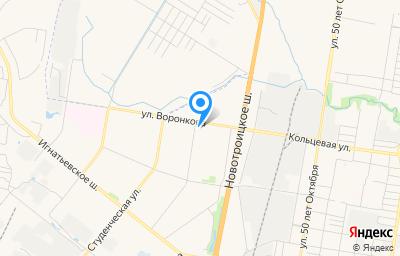 Местоположение на карте пункта техосмотра по адресу г Благовещенск, ул Воронкова, д 8