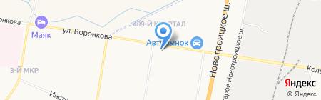 Автоэмали на карте Благовещенска
