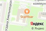 Схема проезда до компании МегаСофт в Благовещенске