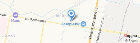 BlagTurbo.ru на карте Благовещенска