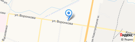 АвтоБЛАГА на карте Благовещенска