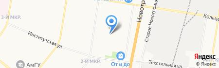 Эстель+ на карте Благовещенска