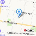 Центр лабораторного анализа и технических измерений по Амурской области на карте Благовещенска