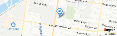 Шиномонтаж на карте Благовещенска
