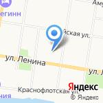 АвтоБОКС на карте Благовещенска