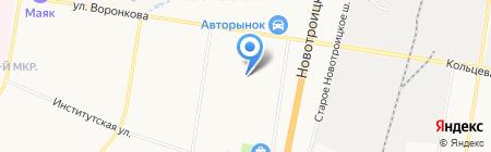 Баку на карте Благовещенска