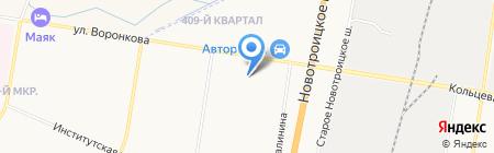 ТБМ на карте Благовещенска