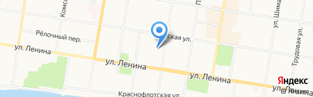 Авиамодельная лаборатория на карте Благовещенска
