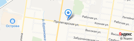 Салют на карте Благовещенска