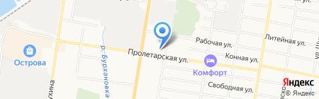 Макура на карте Благовещенска