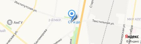 Мобил-ИТ на карте Благовещенска