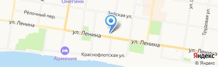 Адвокатский кабинет Тихонова В.В. на карте Благовещенска