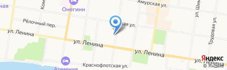 Союз на карте Благовещенска