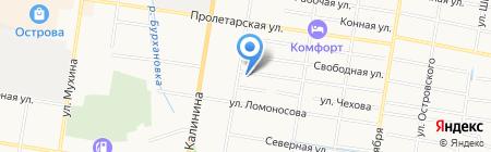 Амуркомплект-плюс на карте Благовещенска