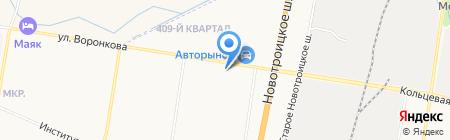 Авто-Партнер на карте Благовещенска