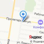 Станция 89 на карте Благовещенска