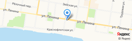 Профсоюз работников народного образования и науки РФ на карте Благовещенска