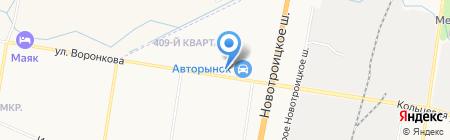 Магазин мотоблоков и бензопил на карте Благовещенска