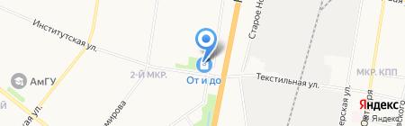 Банкомат Промсвязьбанк ПАО на карте Благовещенска