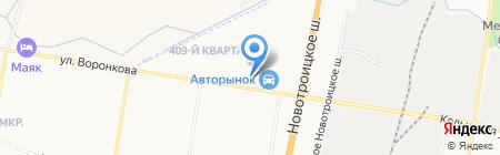Avtostuff на карте Благовещенска