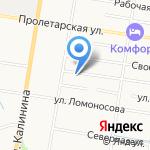 Всероссийское общество автомобилистов на карте Благовещенска