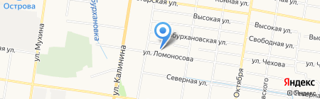 Детский сад №36 на карте Благовещенска