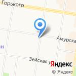 Банк ВТБ 24 на карте Благовещенска