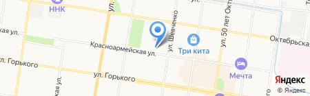 АКС и ЖКХ на карте Благовещенска
