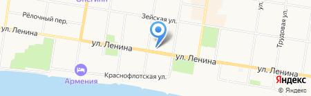 ПроектСтройДекор на карте Благовещенска