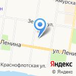 Отдел вневедомственной охраны Управления МВД России по Амурской области на карте Благовещенска