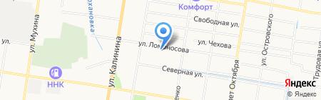 Почтовое отделение №16 на карте Благовещенска