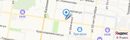 Автомойка у Талеха на карте Благовещенска