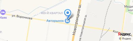 Автоимперия на карте Благовещенска