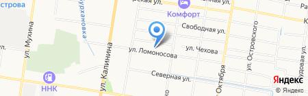 EWE на карте Благовещенска